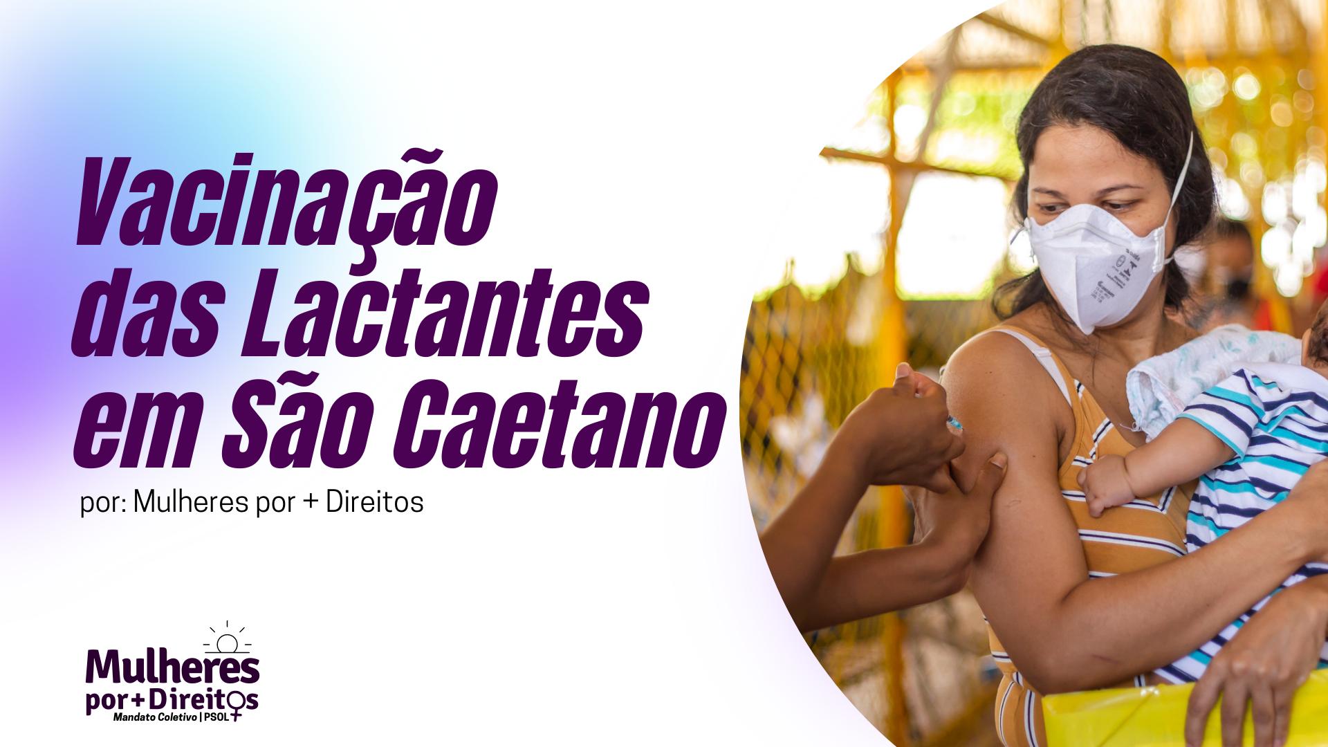 Vacinação das Lactantes em São Caetano